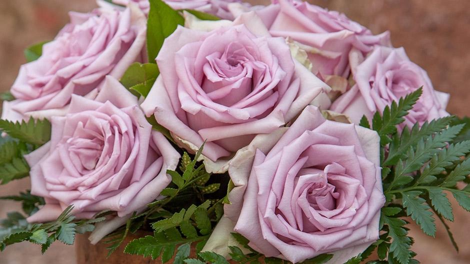 сети серебристые розы фото красиво украсить