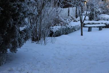 Анабель зимой